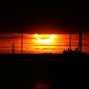 Georgian Bay Solar Eclipse