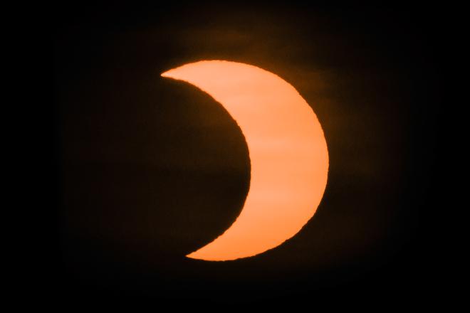 Solar Eclipse 2021 London, ON