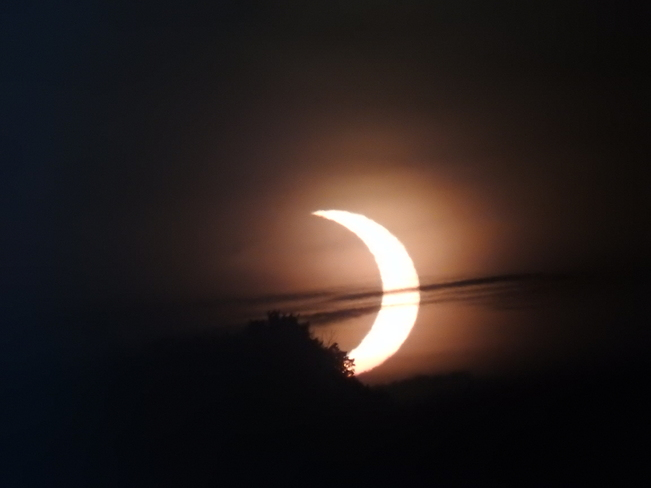 Solar Eclipse North of Oshawa