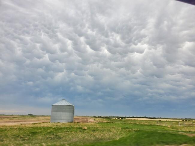 Mammatus Clouds Ogema, SK