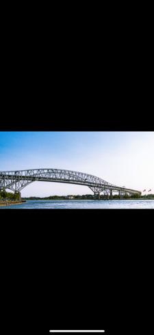 Bluewater bridge Sarnia, ON