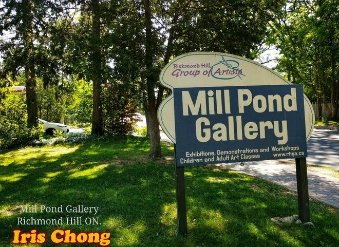 June 12 2021 22C Nice day! Mill Pond Gallery - Richmond Hill Richmond Hill, ON