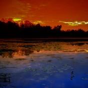 Bannister Lake Sunset 3