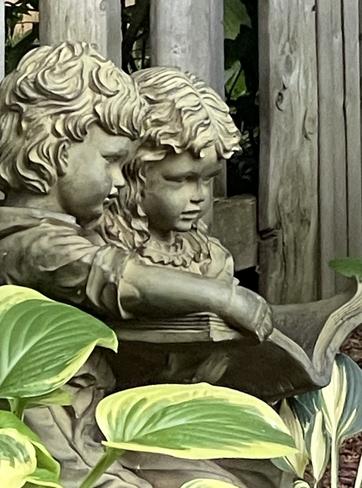 Garden statue Waterdown, Ontario, CA