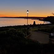 Nirth Bay Waterfront Sunset