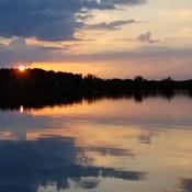 Sunset ~ 8:29 p.m.
