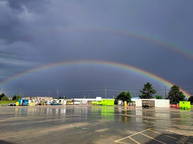 Double. Rainbow Burlington, ON