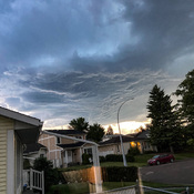 Thunderstorm Overhead