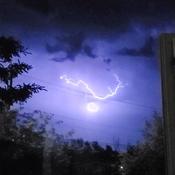 Lightning in Camrose