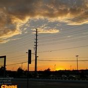 June 17 2021 22C 8:56pm June Golden sunset in Thornhill