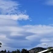 Mountain Wave Clouds Near Penticton