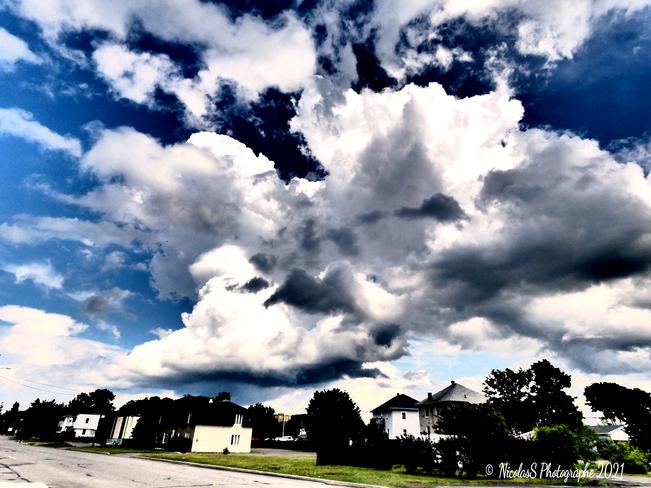 orage en approche Mont-Joli, QC
