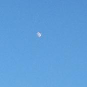 7:27 p.m. moon