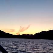 Grenville channel sunset