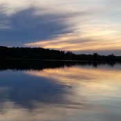 Sunset ~8:44 p.m.