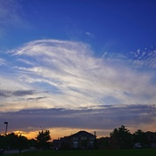 draw the sky like a brush