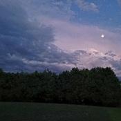 Summer Solstice evening sky