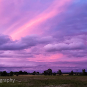 Sunset over Woodstock Ontario