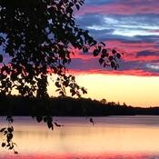 Sunrise on Lorimer Lake ON