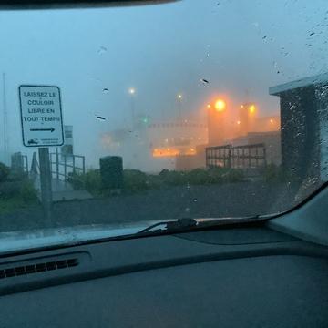 Brume intense - Traversier de Rivière-du-Loup/Saint-Simeon