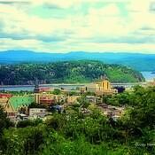 Paysage du Saguenay.