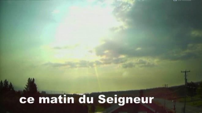 Un dimanche matin Chambord, QC