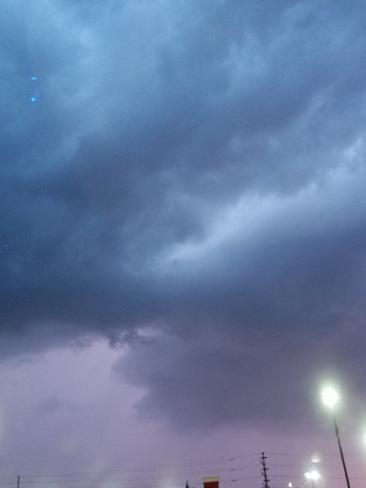 thunderstorm Mississauga, ON