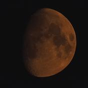 Orange Moon in Southern Ontario