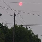soleil rouge Longueuil