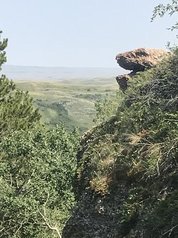 Snake of stone Maple Creek No. 111, Saskatchewan, CA