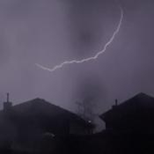 Wednesday July 21 thunderstorm
