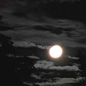 soirée de lune, Crabtree Qc