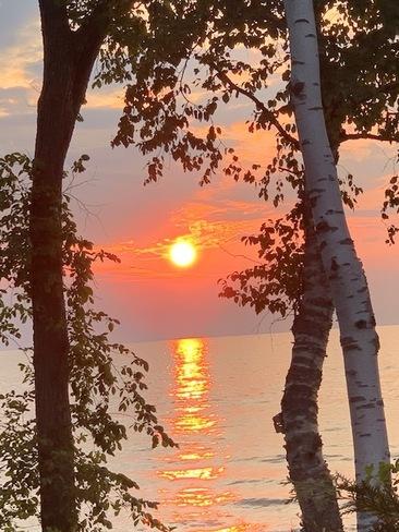 Smoky Sunset Southampton, ON