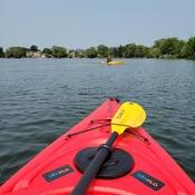 1st kayak