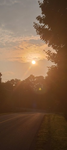 morning sunrise Waldemar, ON