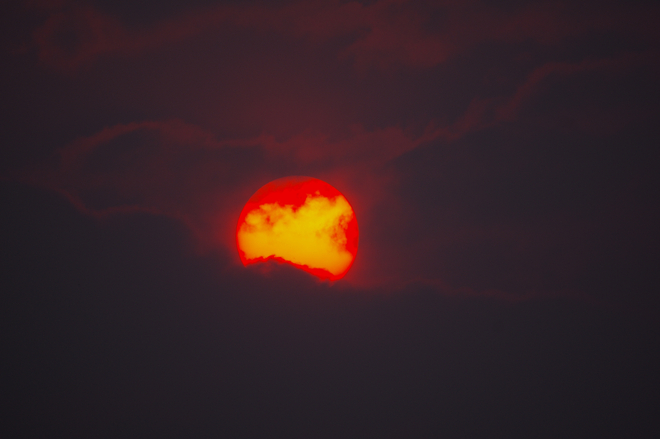Smokey Skies 100 Mile House, BC