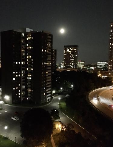 Moon light Toronto, Ontario, CA