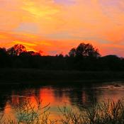Grand River Sunset