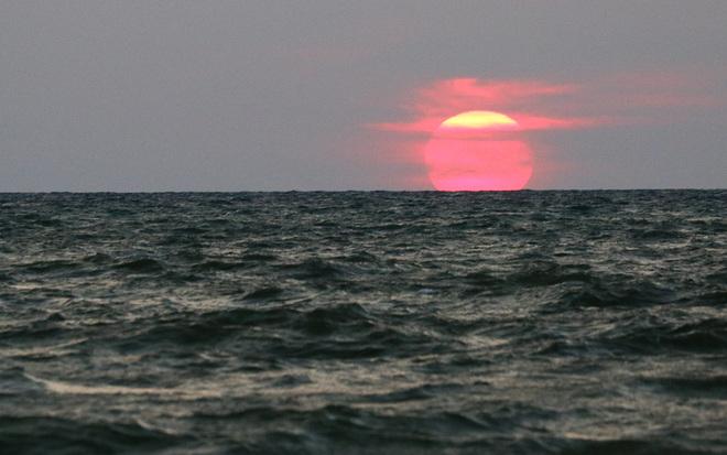 Fiery Sunset at Wasaga Beach, ON Wasaga Beach, ON