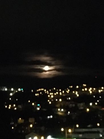 Full Buck Moon, taken by Bun Russell Corner Brook, Newfoundland and Labrador, CA
