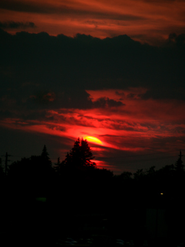 Sunset. Scarborough, Toronto, ON