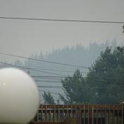 Local Smoke From 900 KM Away
