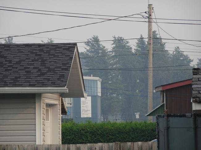 Local Smoke From 900 KM Away Sudbury, ON