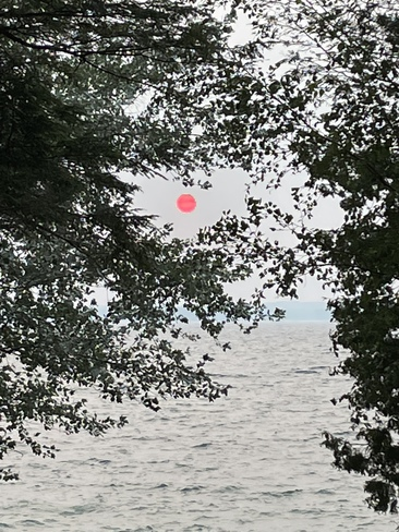 Sunset from Snake Island Snake Island, Lake Simcoe