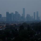 Smokey Haze At Dusk, Toronto