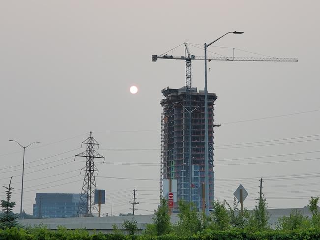 poor air quality Ottawa, ON