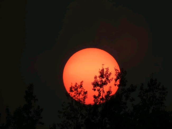 Beau coucher du soleil, Portneuf-sur- Mer Portneuf-sur-Mer, QC