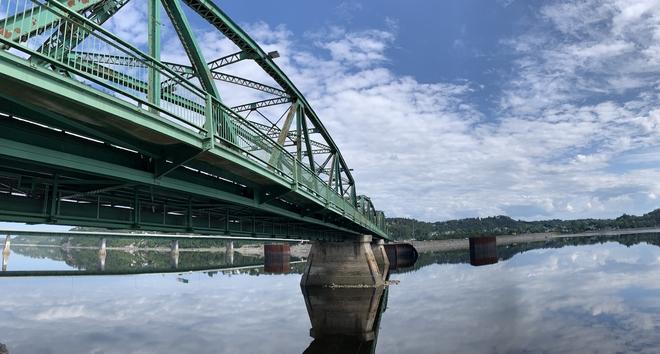 Le pont Vert Chicoutimi, Québec, CA