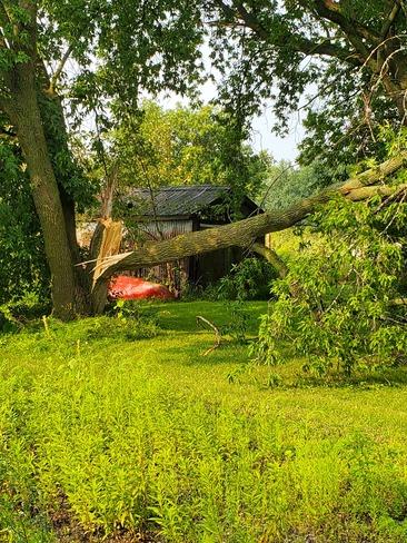 Monday's storm Ingleside, ON