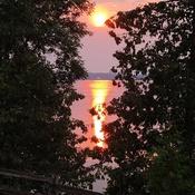 Bayside sunset views